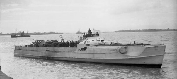 German E-Boat S 204 surrenders at Felixstowe on 13 May 1945